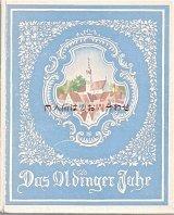 古書 優しい雰囲気の古い本 Das Oldinger Jahr