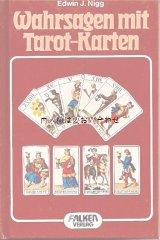 楽しい古本★ 占い タロット カードの本 イラスト
