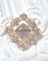 ビンテージ〜アンティーク 四角い形の素敵なブローチ