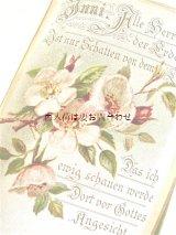 アンティーク洋書 ☆ 忘れな草の小さな本 メモリアル 季節の挿絵の素敵な古書