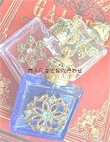 ブロカント☆ デコラティブな古い香水瓶 (3個セット)