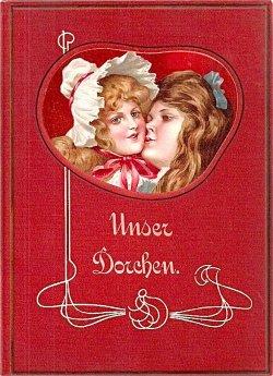 画像1: アンティーク洋書☆ お人形のような表紙の可愛らしい古書 1910年頃 物語