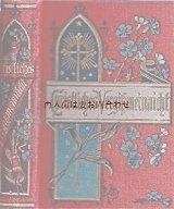 アンティーク洋書★ 忘れな草の本 手のひらサイズの小さな古書 クリスチャン関連