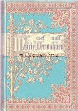 アンティーク洋書☆表裏表紙全面に模様の入った 豪華な小説 1902年頃