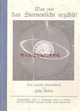 アンティーク洋書★宇宙 空 イラスト 星の光が語る事 1920年代