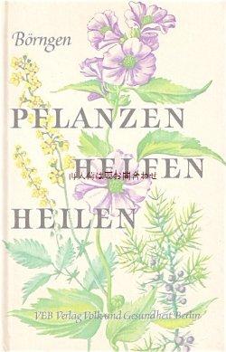 画像1: 楽しい古本★  ボタニカル アート 植物 ハーブ ヒーリング植物 図鑑