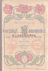 アンティーク洋書★  図版付録 薬草 ハーブ ヒーリング植物の本  1905年