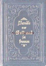 アンティーク洋書☆  型押し装飾 聖杯柄 プロテスタント 讃美歌集 1904年