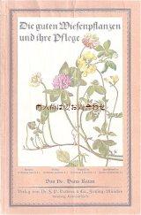 アンティーク★ ボタニカル 植物画の小さな本  冊子