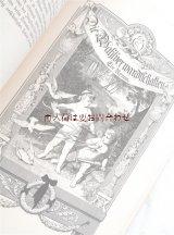 アンティーク☆ 親和力•ヴィルヘルム•マイスターの遍歴時代他 ゲーテ作品集 美イラスト シャビーな大型古書 長編小説