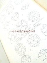 アンティーク洋書  宝石 鉱物の本 付録&おまけのリトグラフ付 50年代