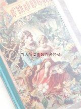 アンティーク洋書 イラスト表紙の美しい シャビーな古書 物語 Genovesa  Anselmo