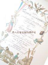 楽しい古本★子供の為のいろいろイラスト集  1800年の遊びや仕事 動物 植物 昆虫