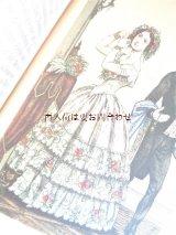 アンティーク☆ 古いファッションの本 服飾 コスチューム 衣装 カラフル図版