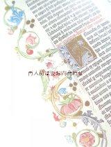 楽しい古本★ グーテンベルク聖書 ヨハネス•グーテンベルク 中世の印刷聖書 装飾文字 97図版