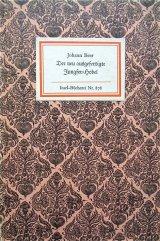 インゼル文庫☆ かわいい表紙の古書 Johann Beer   歴史小説 復刻版