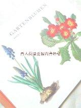 楽しい古本★ スイス 絵本のような図鑑 ガーデン 植物 お庭の花々 2