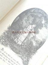 アンティーク洋書★ お手頃 シャビーな詩選集 アンソロジー 愛と友情の詩 イラスト 装飾文字