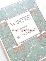 楽しい古本★ オランダの可愛らしい図鑑  Jac. P Thijsse 冬の本 植物 野鳥 キノコ•地衣類他