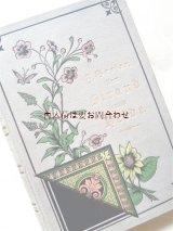 アンティーク洋書★ お花柄の素敵な古書 自然 古い旅行記