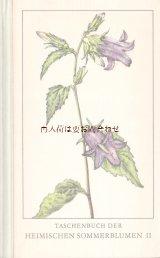 楽しい古本 洋書★ ナチュラル  ヨーロッパ 夏の花の本  植物 図鑑 ボタニカル