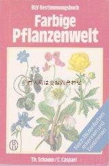 楽しい古本☆ カラフルな植物の世界 花の色別 図鑑 ボタニカル イラスト多数