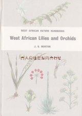 楽しい古本☆百合 や 蘭の本 西アフリカの品種 ボタニカル 植物画  英語 イギリスの古書
