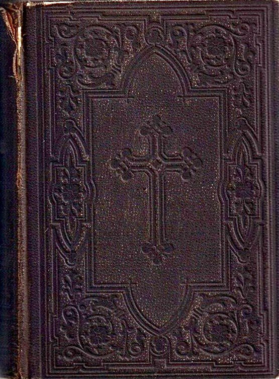 アンティーク 聖書 ★ 深い模様の素敵な大きな古書  旧約•新約聖書 ルター