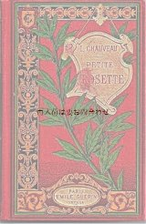 アンティーク洋書  イラスト 小説 豪華なパリの古書
