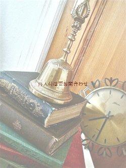 画像1: ブロカント〜アンティーク 真鍮の美しいベル ハンドベル