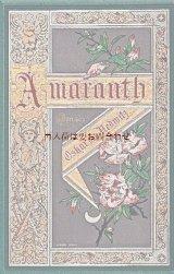 アンティーク洋書★ Amaranth 詩集 1886年 Oskar von Redwitz