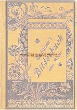 アンティーク洋書☆  H. C.アンデルセン 絵のない絵本 小さなお花柄の短編集 1880年