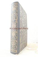 アンティーク洋書★ 背表紙花柄の素敵な古書 ジャン•パウル 作品集