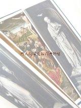 アンティーク洋書★  多翼祭壇画 折り込みイラストの素敵な古書