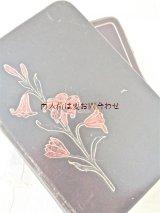 アンティーク☆ カトリック 百合の模様の古書 祈祷 お祈りの本 おまけ付