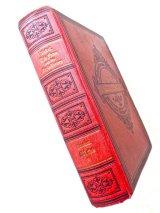 アンティーク洋書★ エンボス 背表紙装飾 模様の素敵な古書 アウグスト・ベーベル