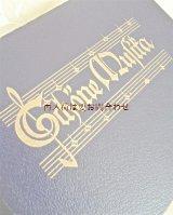 アンティーク洋書☆ 楽譜の素敵な古書 讃美歌集 音楽 音符 美しい音楽の本
