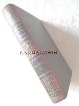 アンティーク洋書☆ 社会倫理 豪華背表紙の古書 カット面赤色