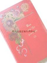 アンティーク洋書☆ ヨハンナ・シュピリ 物語 金色の装飾と花柄が シャビーな赤い本