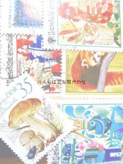 画像1: アンティーク☆ 古い切手のコレクション ドイツ DDR ハンガリー他 使用済/未使用  切手帳 アルバム 建物 乗り物 etc