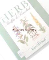 楽しい古本★ Ingrid Gabriel ヒーリング植物  薬草 ハーブ 図鑑 白黒 イラスト  英語版