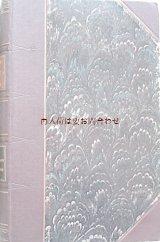 アンティーク洋書★ ゲーテ 作品集  エッセイ集 1888年 マーブルの美しい古書