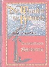 アンティーク大型書籍★美品★送料無料★宇宙 天文書  Littrow 素晴らしい空の本 イラスト多数 1910年