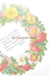 楽しい古本★ リネン表紙  Redouté ルドゥーテ 豪華な薔薇のイラスト集  170点  ボタニカル アート 植物画 バラ