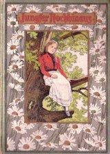 アンティーク洋書 ☆女性と お花柄 シャビーな古書  物語  可愛らしい本