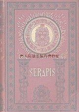 おすすめ アンティーク洋書 ☆ セラピス  エジプトの神と黄道十二星座の絵柄 エジプト学者の歴史小説