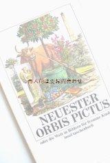 楽しい古本☆  Neuester Orbis Pictus  1830年代の児童書  絵遊び 子供 言葉 4ヶ国語