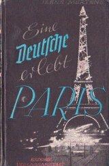 楽しい古本 ☆ 旅行記  古いパリのガイドブック  ドイツ語  小さなモノクロ写真ページ 多数