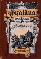 アンティーク 洋書☆ 美 イラスト表紙  Phaläna  1896年